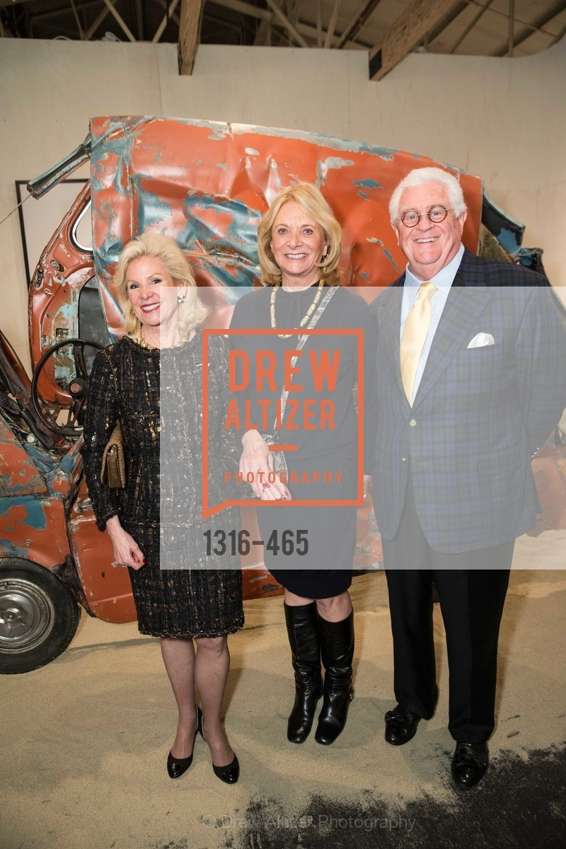Dede Wilsey, Sara Hills, Bob Hill, FOG Design + Art Preview Gala, US. US, January 16th, 2014,Drew Altizer, Drew Altizer Photography, full-service event agency, private events, San Francisco photographer, photographer California