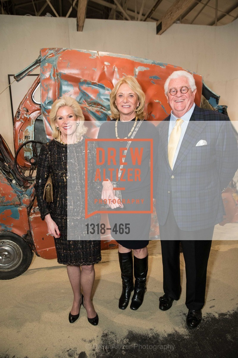 Dede Wilsey, Sara Hills, Bob Hill, FOG Design + Art Preview Gala, US. US, January 16th, 2014,Drew Altizer, Drew Altizer Photography, full-service agency, private events, San Francisco photographer, photographer california