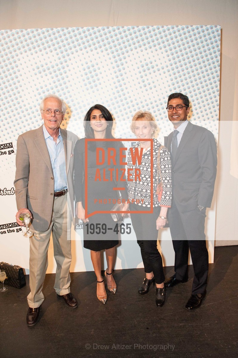Joachim Bechtle, Alka Agrawal, Nancy Bechtle, Ravin Agrawal, FOG Design + Art Preview Gala, US. US, January 16th, 2014