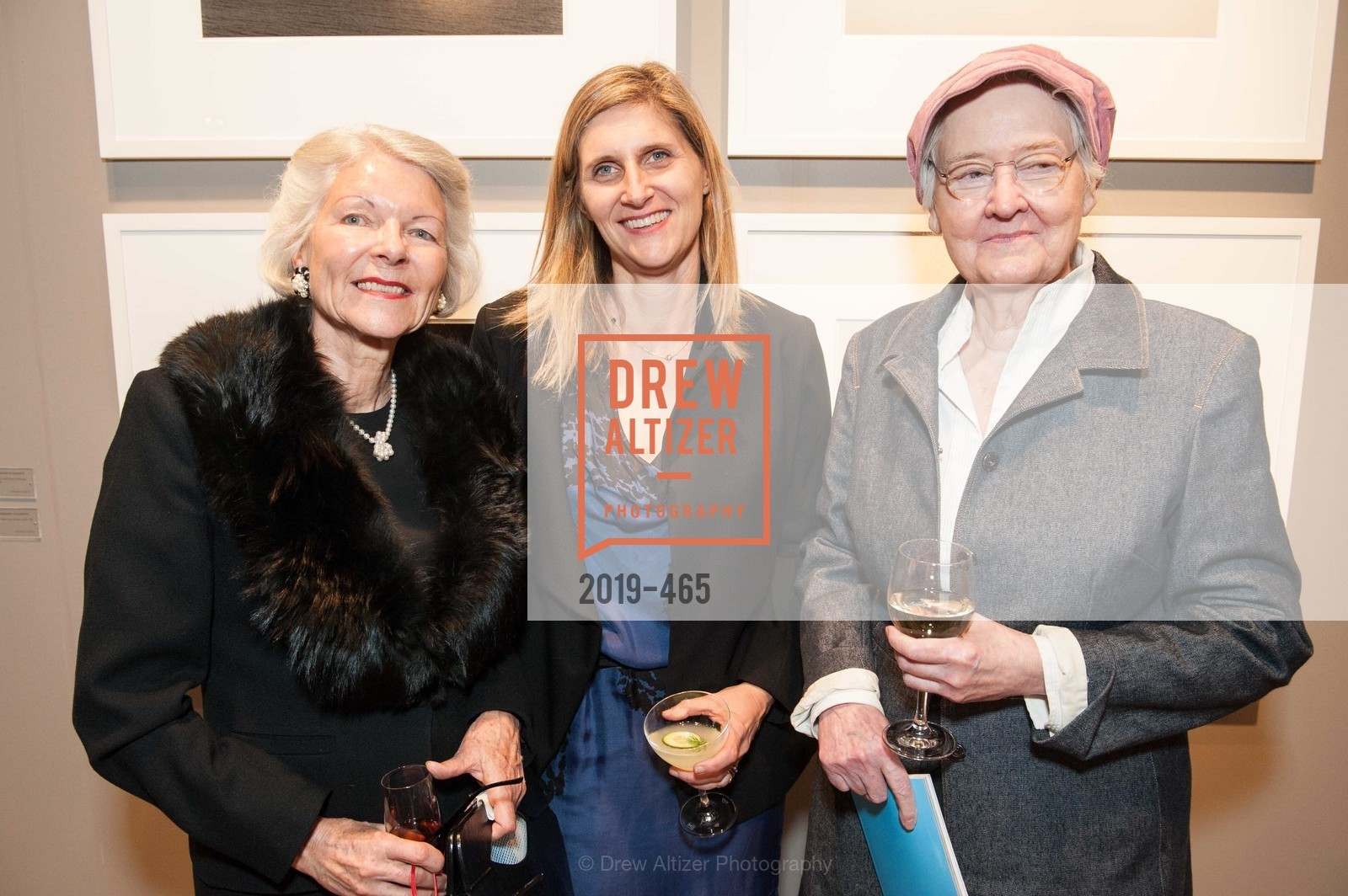 Rica Lakamp, Jennifer Dunlop Fletcher, Miranda Leonard, FOG Design + Art Preview Gala, US. US, January 16th, 2014,Drew Altizer, Drew Altizer Photography, full-service agency, private events, San Francisco photographer, photographer california
