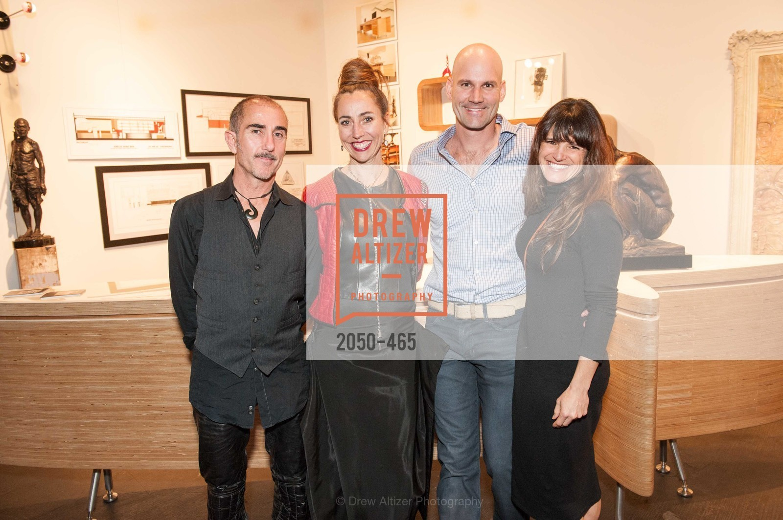 Maxime Tenauzeau, Nicola Hinds, James Stewart, Genevieve Molat, FOG Design + Art Preview Gala, US. US, January 16th, 2014