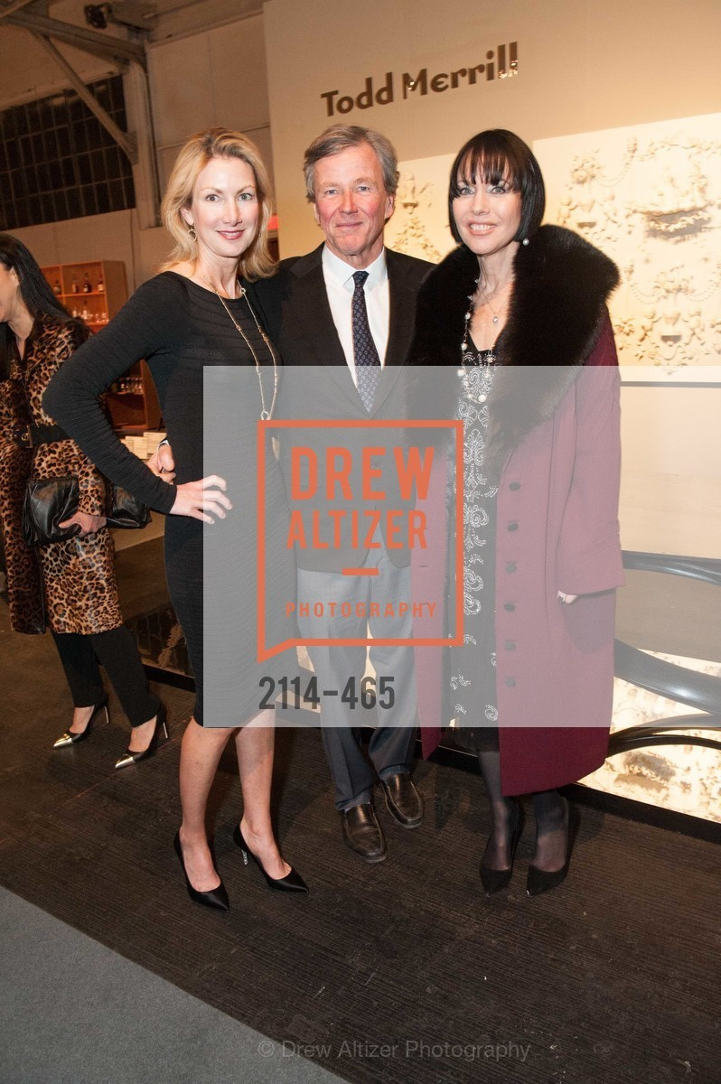 Shirley Parks, James Smith, Christine Suppes, FOG Design + Art Preview Gala, US. US, January 16th, 2014,Drew Altizer, Drew Altizer Photography, full-service agency, private events, San Francisco photographer, photographer california