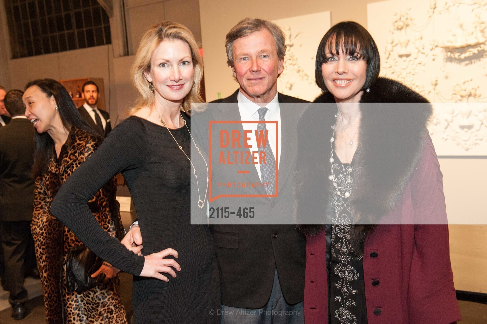 Shirley Parks, James Smith, Christine Suppes, FOG Design + Art Preview Gala, US. US, January 16th, 2014,Drew Altizer, Drew Altizer Photography, full-service event agency, private events, San Francisco photographer, photographer California