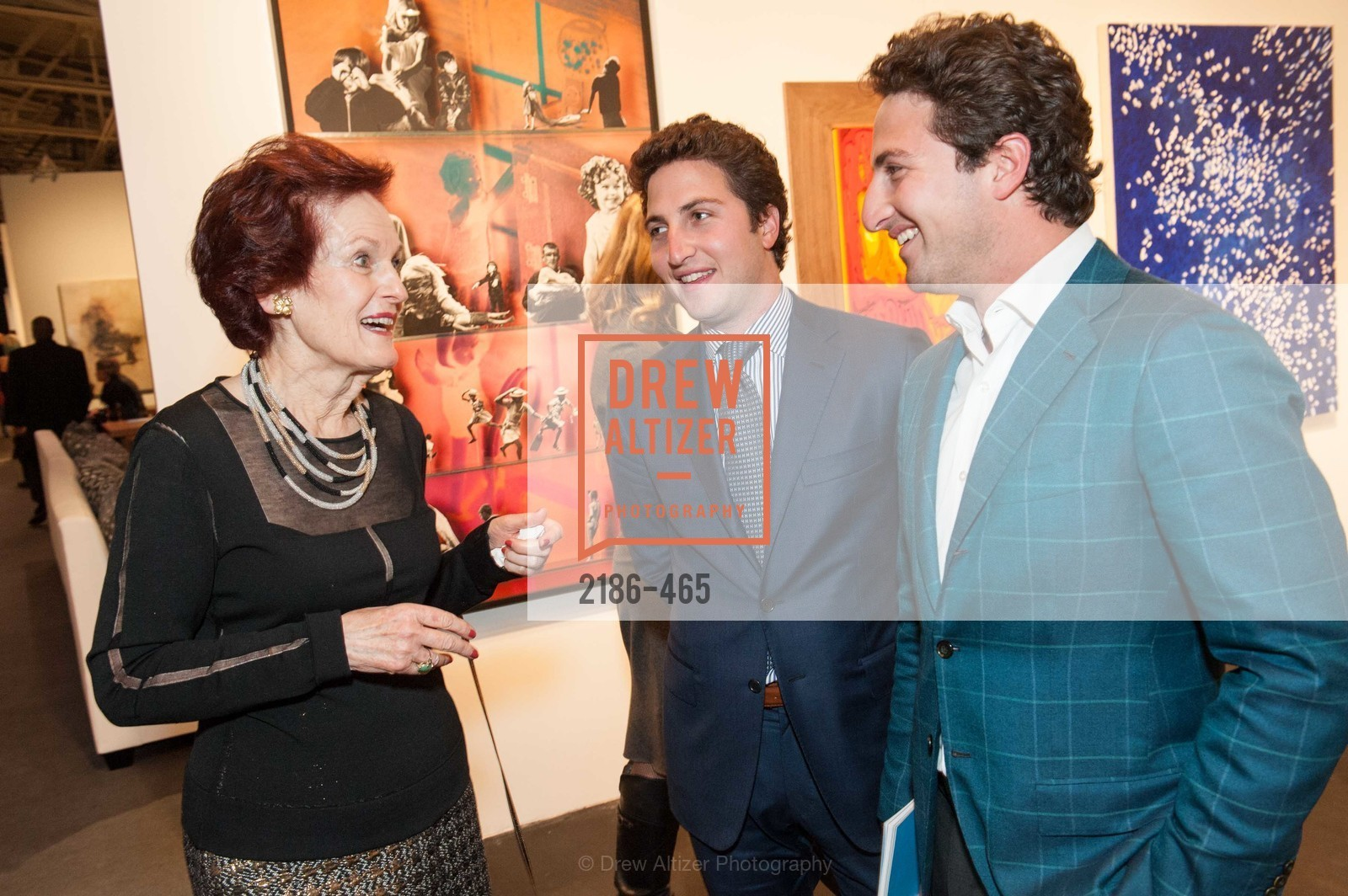 Helen Hilton Raiser, Jason Goldman, Matthew Goldman, FOG Design + Art Preview Gala, US. US, January 16th, 2014