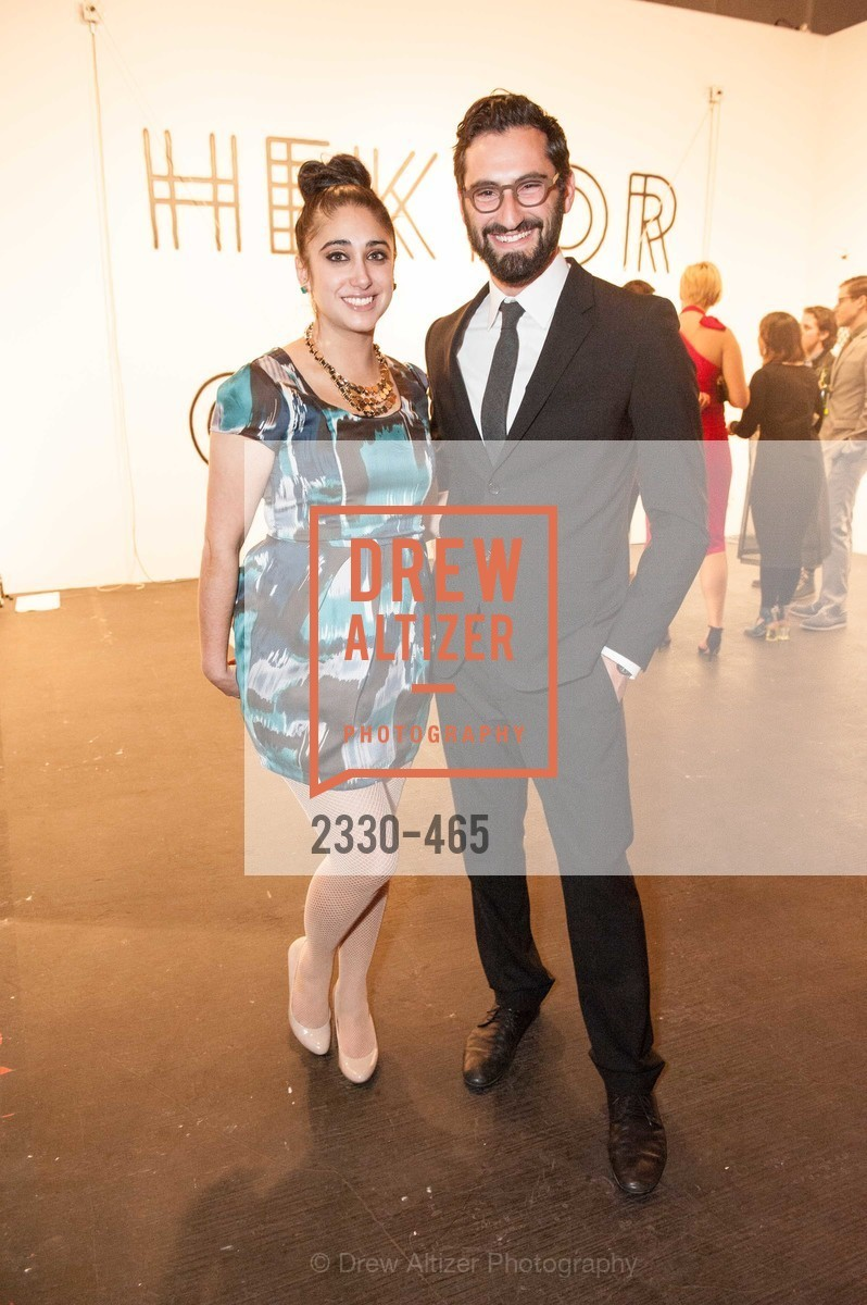 Cimi Ahluwalia, Joseph Becker, FOG Design + Art Preview Gala, US. US, January 16th, 2014,Drew Altizer, Drew Altizer Photography, full-service agency, private events, San Francisco photographer, photographer california