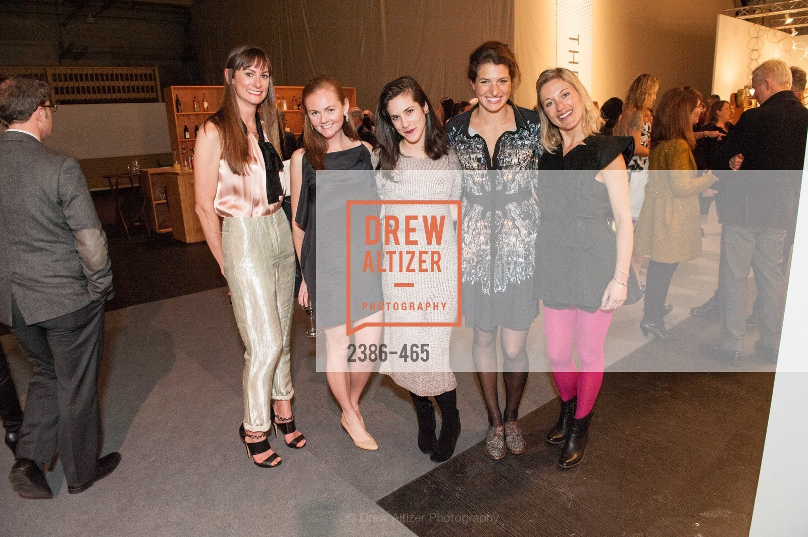Evie Howell, Katie Spalding, Tessa Perliss, Lexie Fisher, FOG Design + Art Preview Gala, US. US, January 16th, 2014,Drew Altizer, Drew Altizer Photography, full-service agency, private events, San Francisco photographer, photographer california