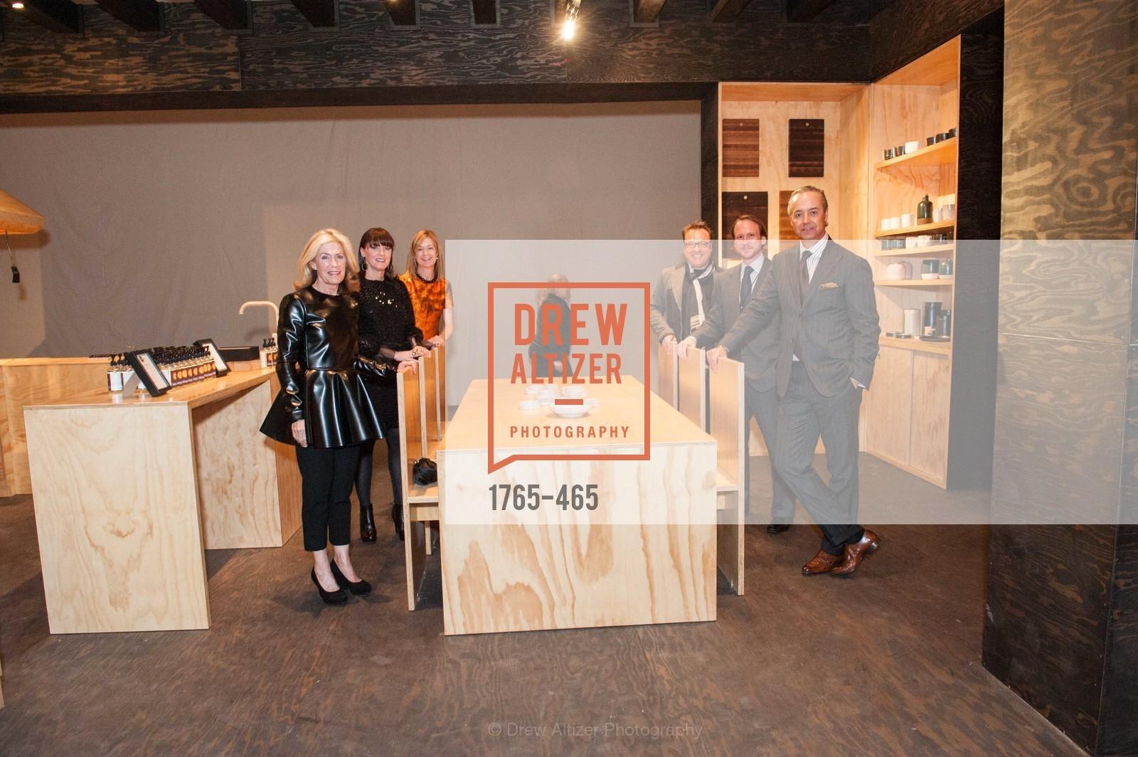Cathy Topham, Allison Speer, Katie Schwab Paige, Stanlee Gatti, Roth Martin, Douglas Durkin, FOG Design + Art Preview Gala, US. US, January 16th, 2014