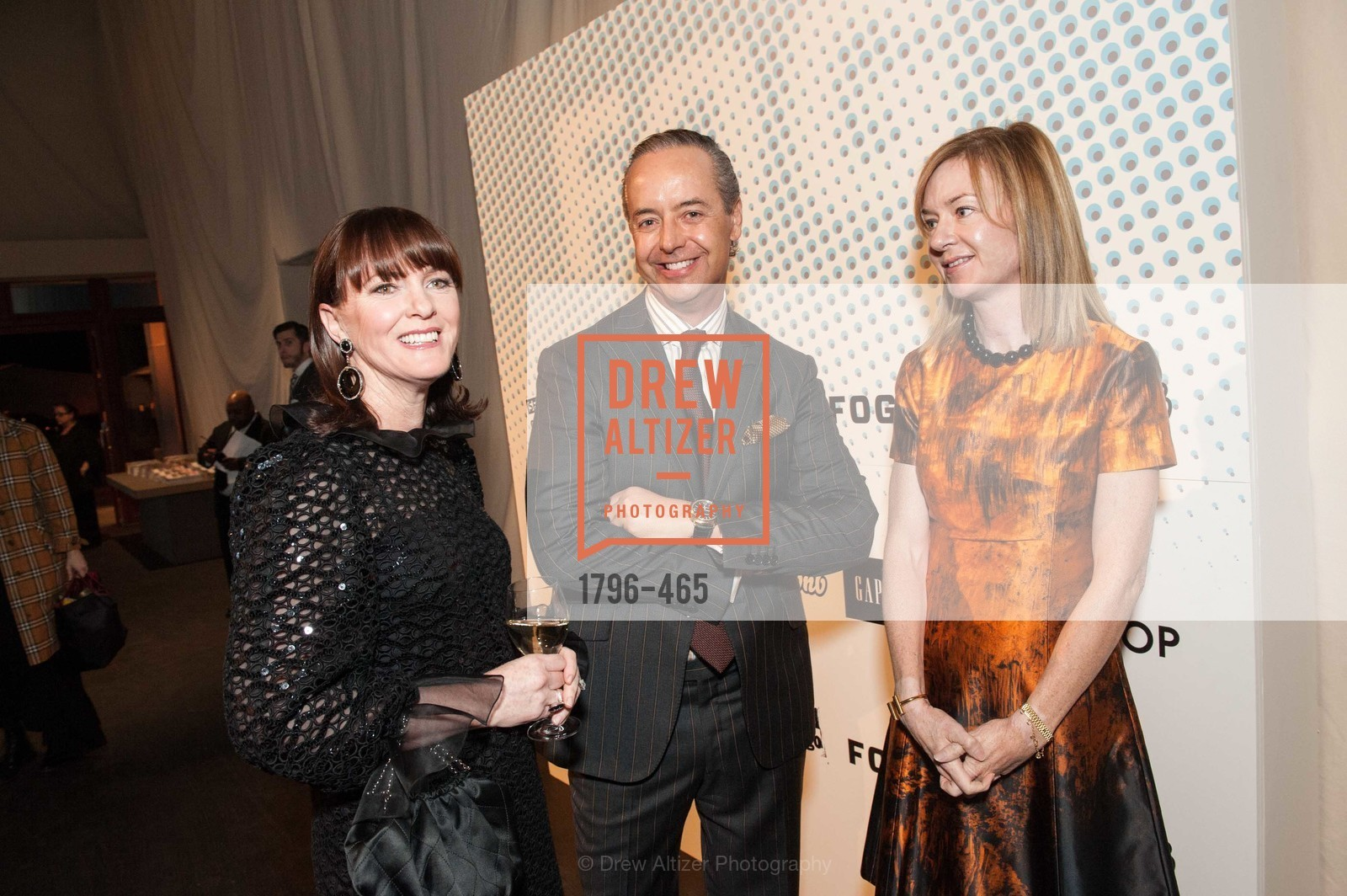 Allison Speer, Douglas Durkin, Katie Schwab Paige, FOG Design + Art Preview Gala, US. US, January 16th, 2014,Drew Altizer, Drew Altizer Photography, full-service agency, private events, San Francisco photographer, photographer california