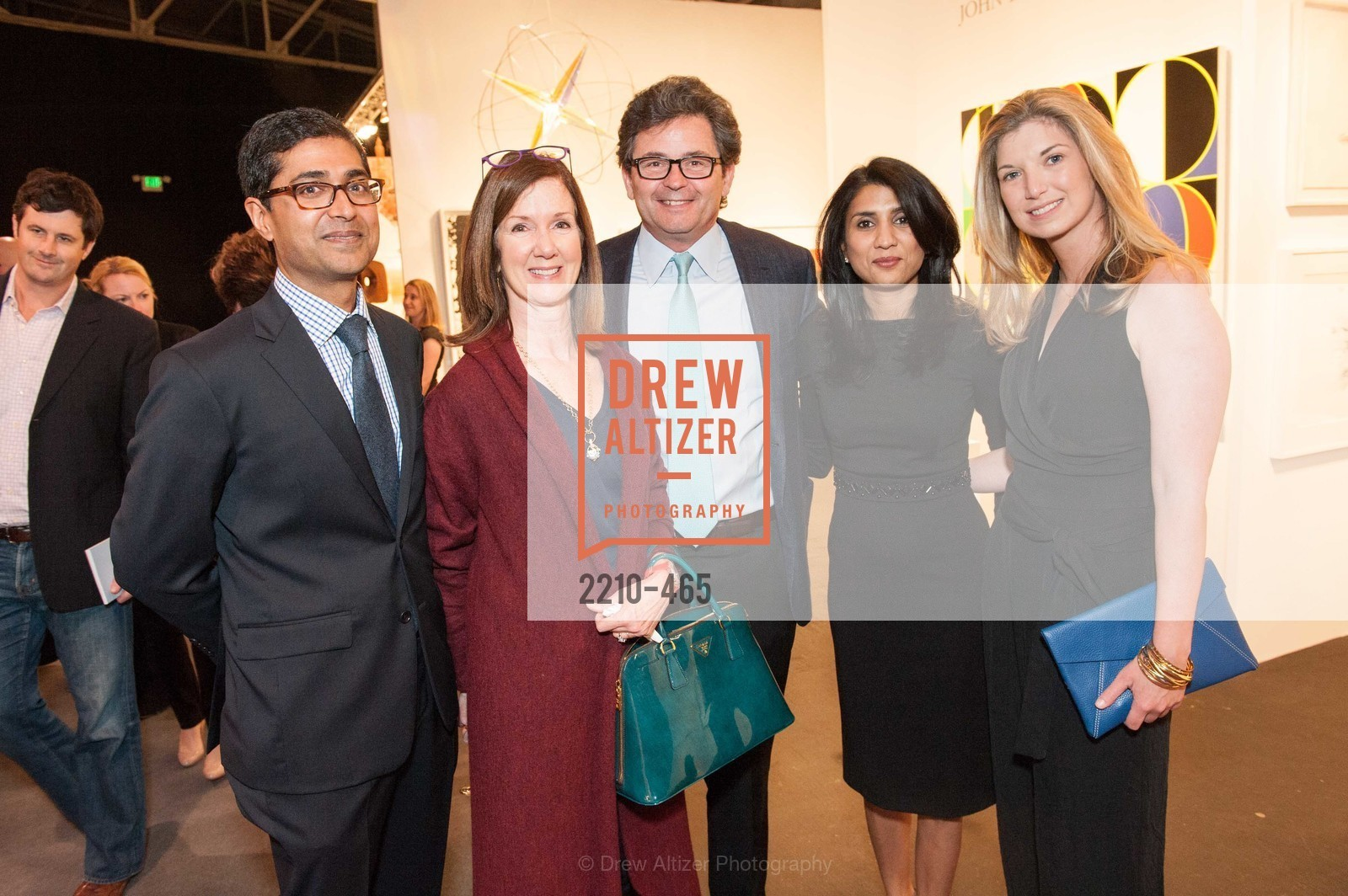 Ravin Agrawal, Frannie Allen, George Cogan, Alka Agrawal, Cameron Phleger, FOG Design + Art Preview Gala, US. US, January 16th, 2014,Drew Altizer, Drew Altizer Photography, full-service agency, private events, San Francisco photographer, photographer california