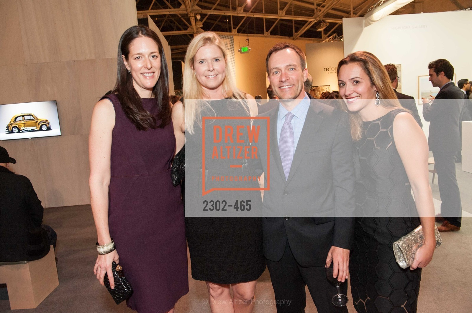 Lisa Targer, Virginia Tusher, Scott Crabill, Angela Crabill, FOG Design + Art Preview Gala, US. US, January 16th, 2014,Drew Altizer, Drew Altizer Photography, full-service event agency, private events, San Francisco photographer, photographer California