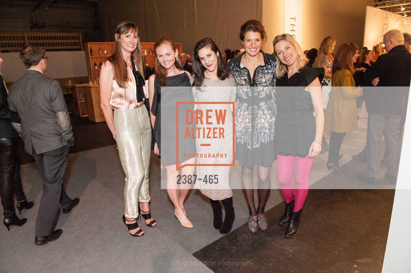 Evie Howell, Katie Spalding, Tessa Perliss, Lexie Fisher, FOG Design + Art Preview Gala, US. US, January 16th, 2014