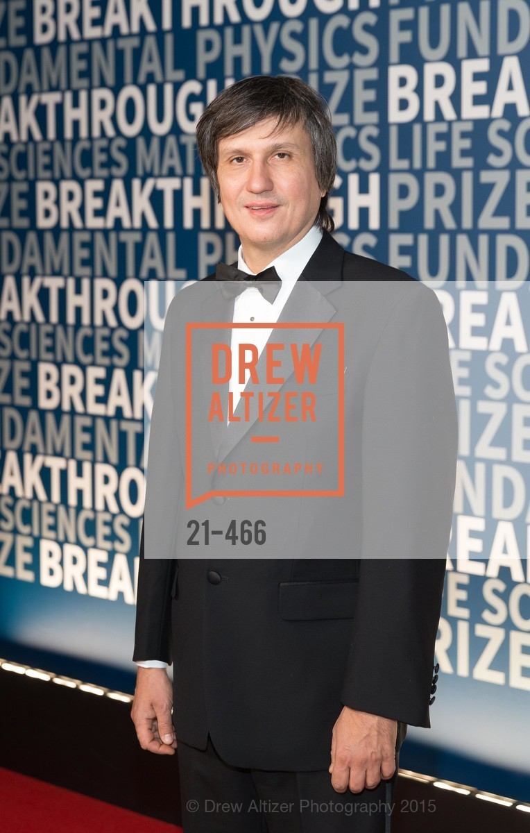 Maxim Kontsevich, THE BREAKTHROUGH PRIZE Hosted By Seth MacFarlane, Ames Research Center. Naval Air Station, Moffett Field, November 8th, 2015,Drew Altizer, Drew Altizer Photography, full-service agency, private events, San Francisco photographer, photographer california