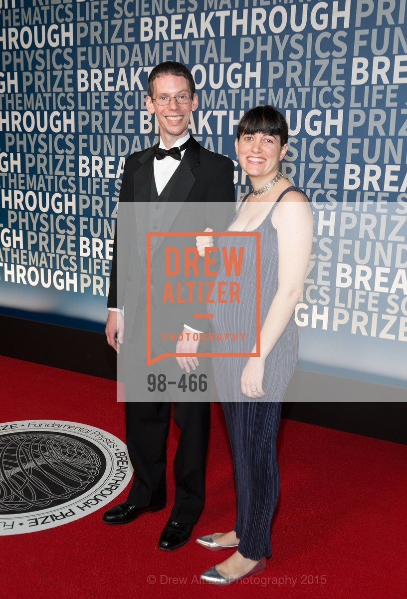 Larry Guth, Amy Pasternack, THE BREAKTHROUGH PRIZE Hosted By Seth MacFarlane, Ames Research Center. Naval Air Station, Moffett Field, November 8th, 2015,Drew Altizer, Drew Altizer Photography, full-service agency, private events, San Francisco photographer, photographer california