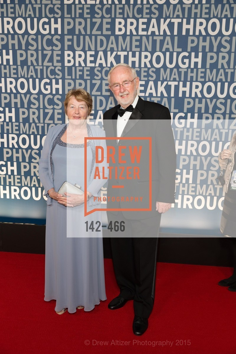Janet McDonald, Arthur McDonald, THE BREAKTHROUGH PRIZE Hosted By Seth MacFarlane, Ames Research Center. Naval Air Station, Moffett Field, November 8th, 2015,Drew Altizer, Drew Altizer Photography, full-service agency, private events, San Francisco photographer, photographer california