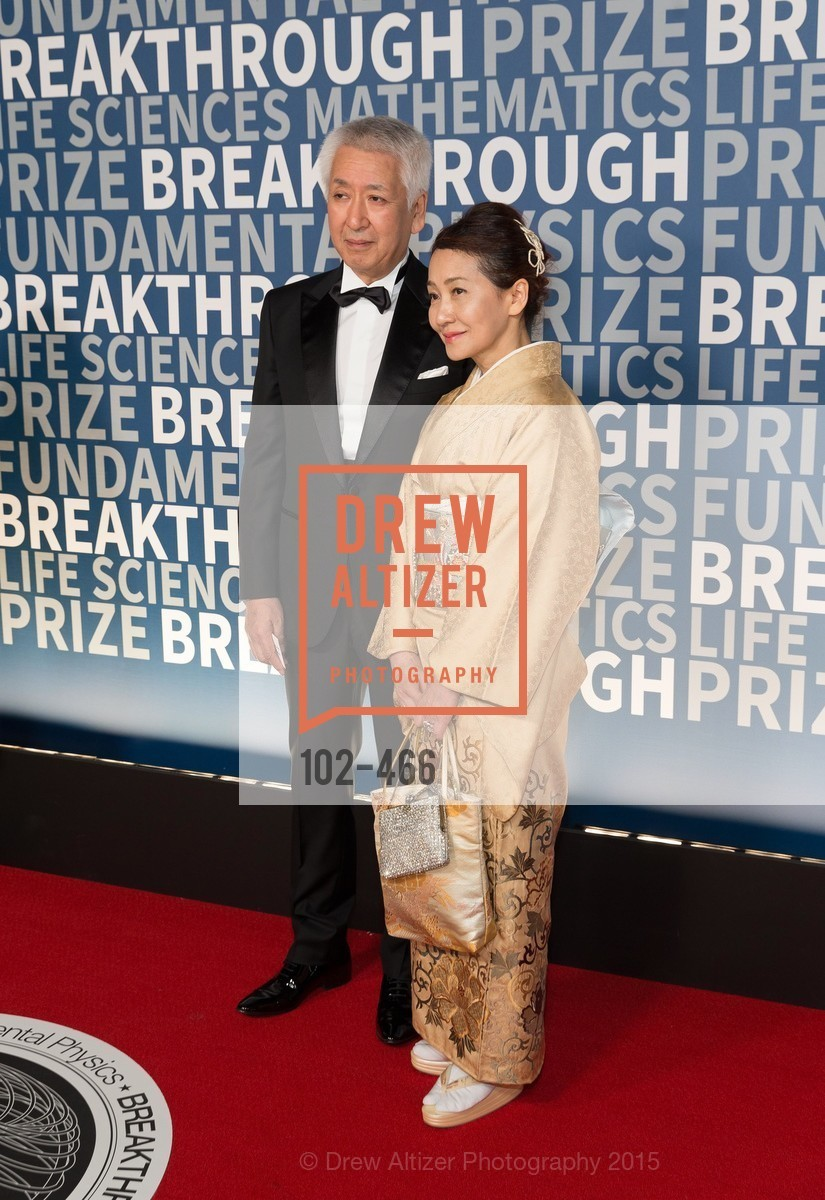 Koichiro Nishikawa, Natsuko Nishikawa, THE BREAKTHROUGH PRIZE Hosted By Seth MacFarlane, Ames Research Center. Naval Air Station, Moffett Field, November 8th, 2015,Drew Altizer, Drew Altizer Photography, full-service agency, private events, San Francisco photographer, photographer california