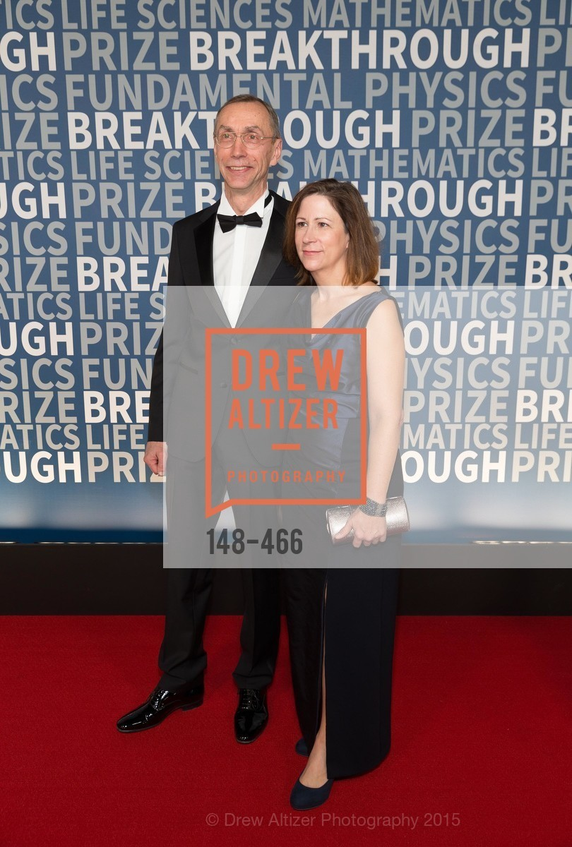 Svante Paabo, Linda Vigilant, THE BREAKTHROUGH PRIZE Hosted By Seth MacFarlane, Ames Research Center. Naval Air Station, Moffett Field, November 8th, 2015,Drew Altizer, Drew Altizer Photography, full-service agency, private events, San Francisco photographer, photographer california