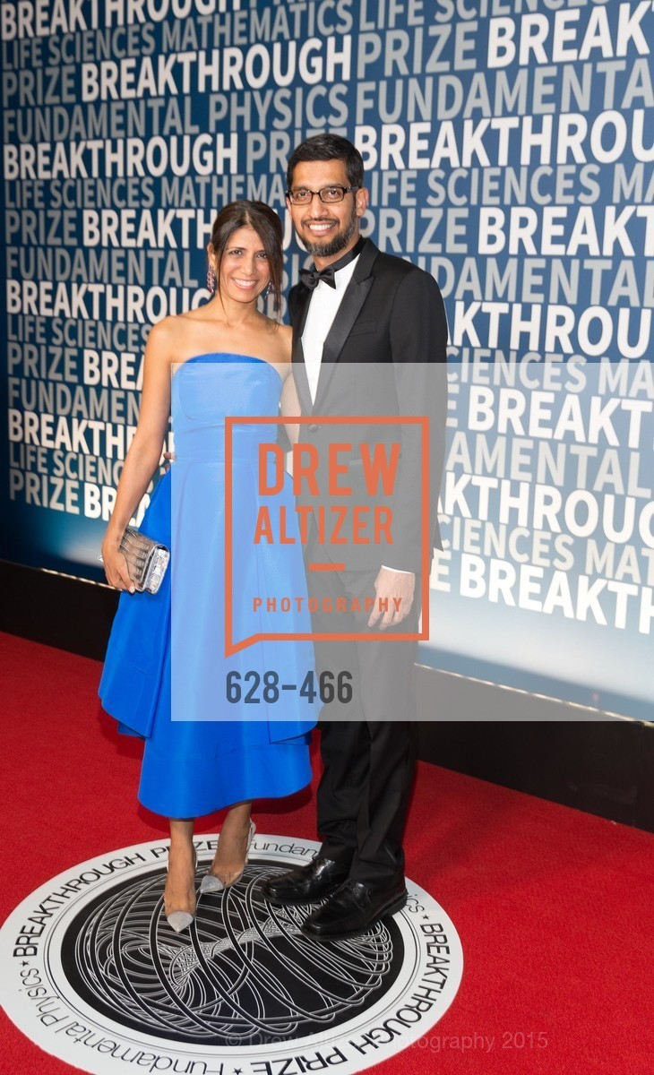 Sundar Pichai, THE BREAKTHROUGH PRIZE Hosted By Seth MacFarlane, Ames Research Center. Naval Air Station, Moffett Field, November 8th, 2015,Drew Altizer, Drew Altizer Photography, full-service agency, private events, San Francisco photographer, photographer california