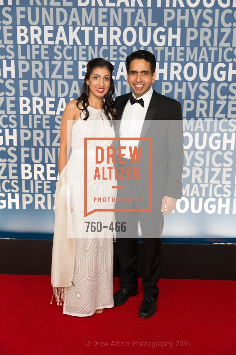 Umaima Marvi, Sal Khan, THE BREAKTHROUGH PRIZE Hosted By Seth MacFarlane, Ames Research Center. Naval Air Station, Moffett Field, November 8th, 2015,Drew Altizer, Drew Altizer Photography, full-service agency, private events, San Francisco photographer, photographer california