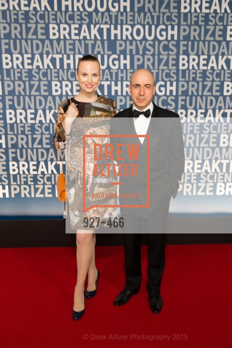 Julia Milner, Yuri Milner, THE BREAKTHROUGH PRIZE Hosted By Seth MacFarlane, Ames Research Center. Naval Air Station, Moffett Field, November 8th, 2015,Drew Altizer, Drew Altizer Photography, full-service event agency, private events, San Francisco photographer, photographer California