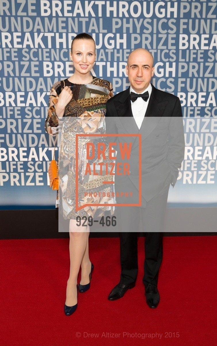 Julia Milner, Yuri Milner, THE BREAKTHROUGH PRIZE Hosted By Seth MacFarlane, Ames Research Center. Naval Air Station, Moffett Field, November 8th, 2015,Drew Altizer, Drew Altizer Photography, full-service agency, private events, San Francisco photographer, photographer california