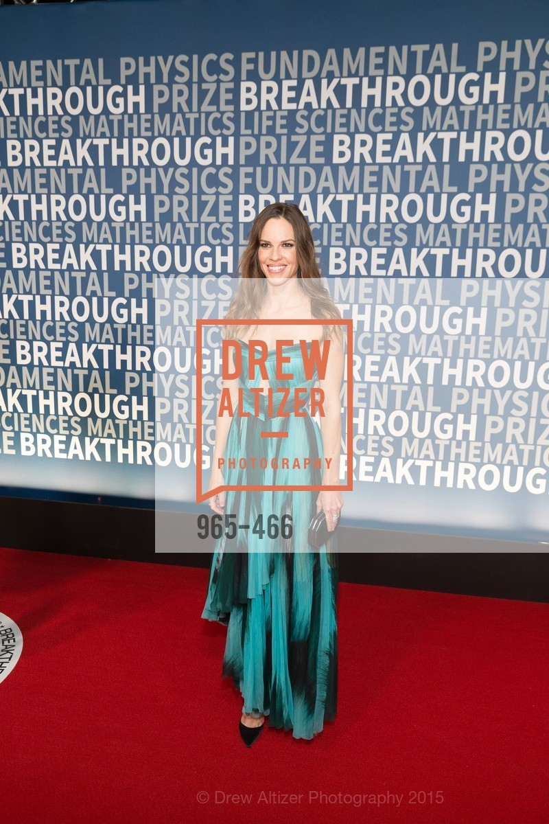 Hilary Swank, THE BREAKTHROUGH PRIZE Hosted By Seth MacFarlane, Ames Research Center. Naval Air Station, Moffett Field, November 8th, 2015,Drew Altizer, Drew Altizer Photography, full-service event agency, private events, San Francisco photographer, photographer California