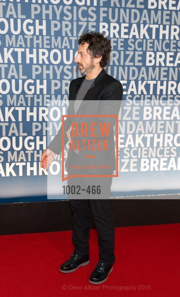Sergey Brin, THE BREAKTHROUGH PRIZE Hosted By Seth MacFarlane, Ames Research Center. Naval Air Station, Moffett Field, November 8th, 2015,Drew Altizer, Drew Altizer Photography, full-service agency, private events, San Francisco photographer, photographer california