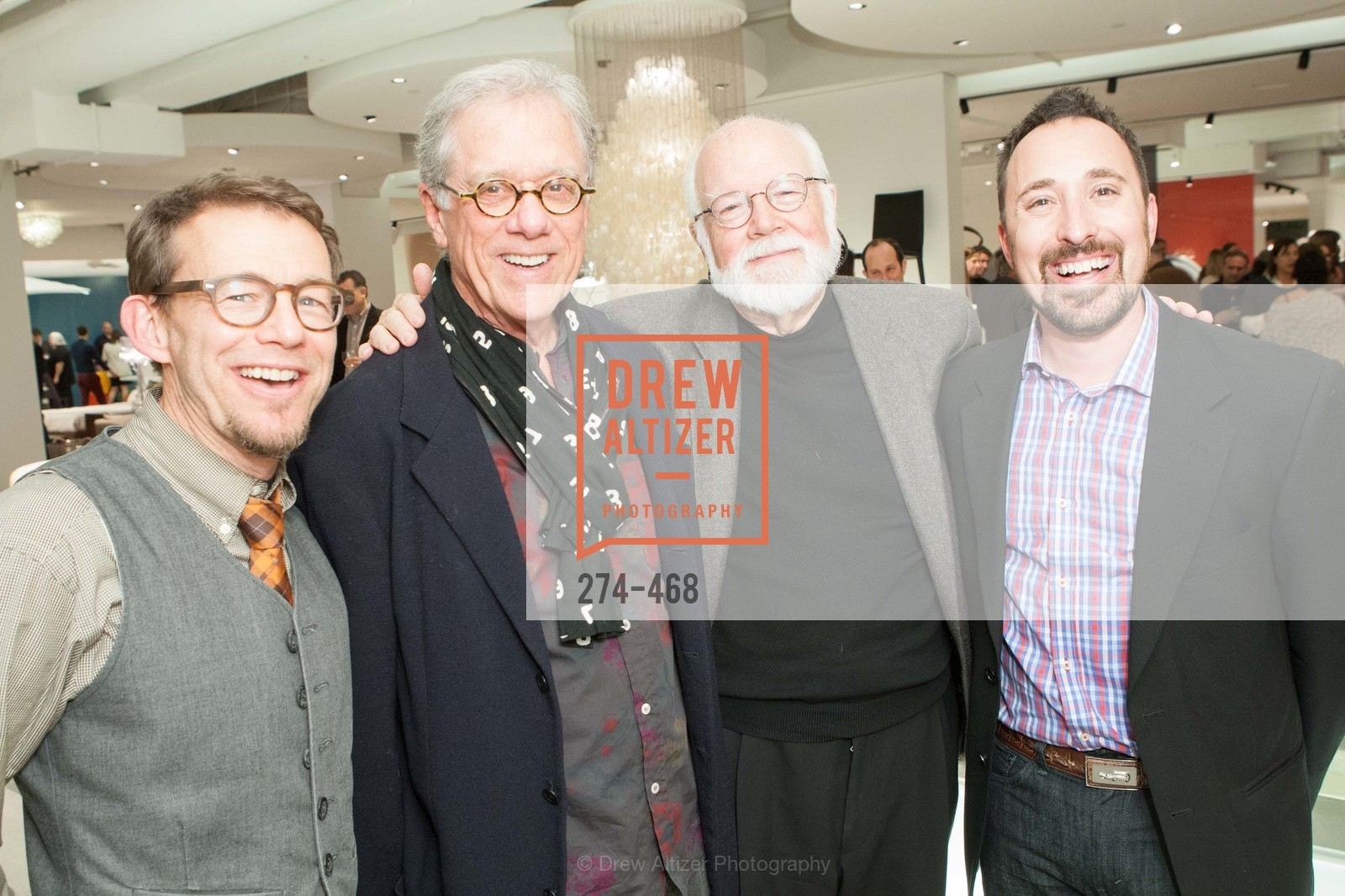 Ted Boerner, Rob Forbes, Kit Hinrichs, Eric Toth, DESIGN WITHIN REACH Studio Opening, US. US, January 21st, 2014,Drew Altizer, Drew Altizer Photography, full-service agency, private events, San Francisco photographer, photographer california