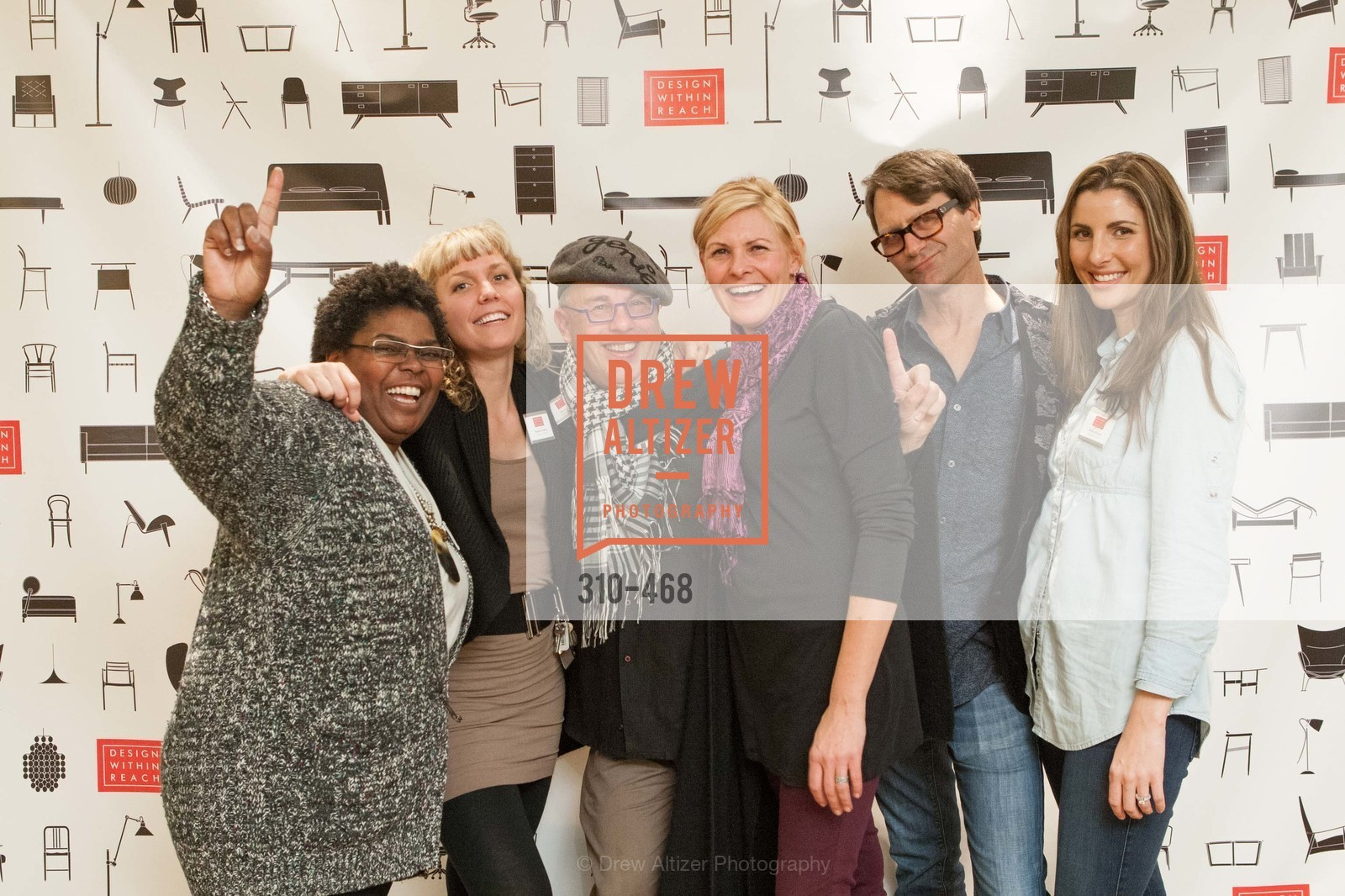Liz Landrum, Margot Scheltens, Vernon Theiss, Lisa Russell, Bradley Long, Ashley Turnbull, DESIGN WITHIN REACH Studio Opening, US. US, January 21st, 2014,Drew Altizer, Drew Altizer Photography, full-service agency, private events, San Francisco photographer, photographer california