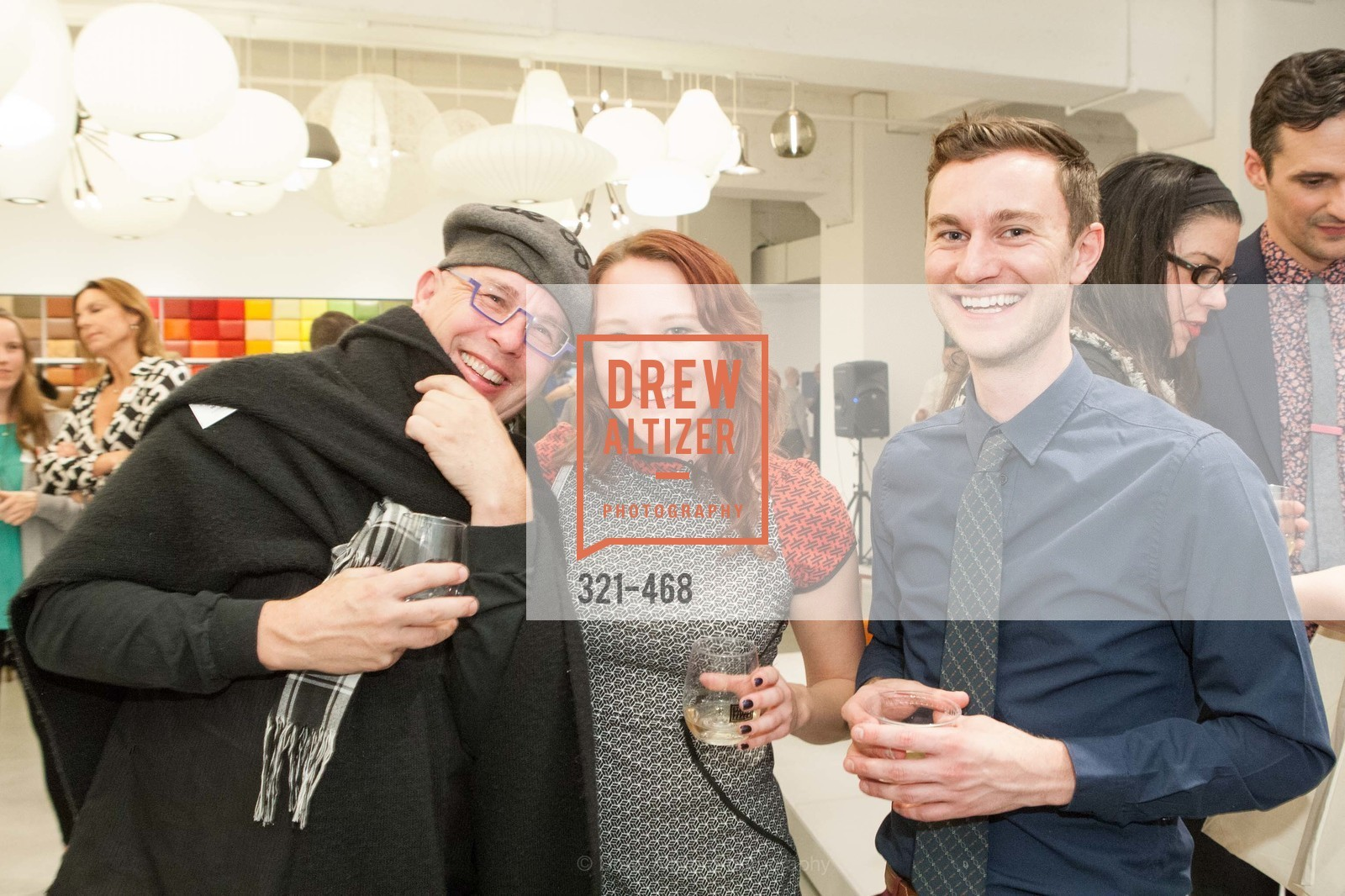 Vernon Theiss, Becca Reese, Bart Kraus, DESIGN WITHIN REACH Studio Opening, US. US, January 21st, 2014,Drew Altizer, Drew Altizer Photography, full-service agency, private events, San Francisco photographer, photographer california