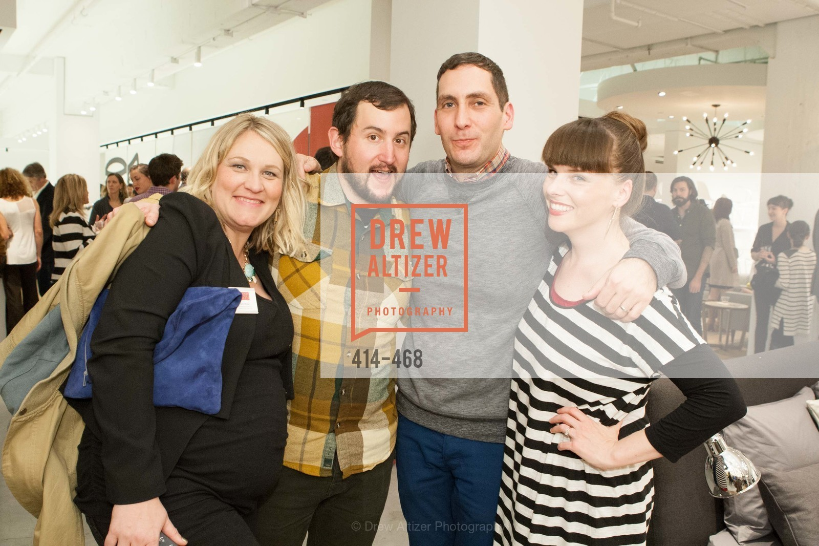 Erin Brown, Matt Valerio, Eric Steuer, Erin Steuer, DESIGN WITHIN REACH Studio Opening, US. US, January 21st, 2014,Drew Altizer, Drew Altizer Photography, full-service agency, private events, San Francisco photographer, photographer california