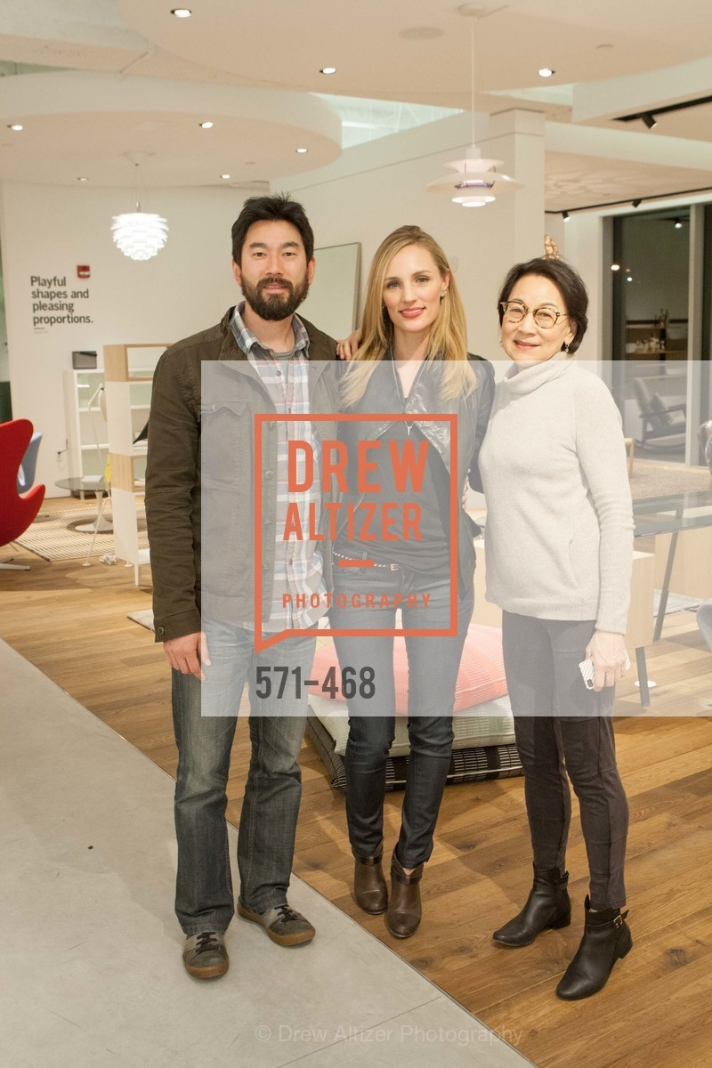 Dean Yao, Karina Yao, Lien Yao, DESIGN WITHIN REACH Studio Opening, US. US, January 21st, 2014,Drew Altizer, Drew Altizer Photography, full-service agency, private events, San Francisco photographer, photographer california