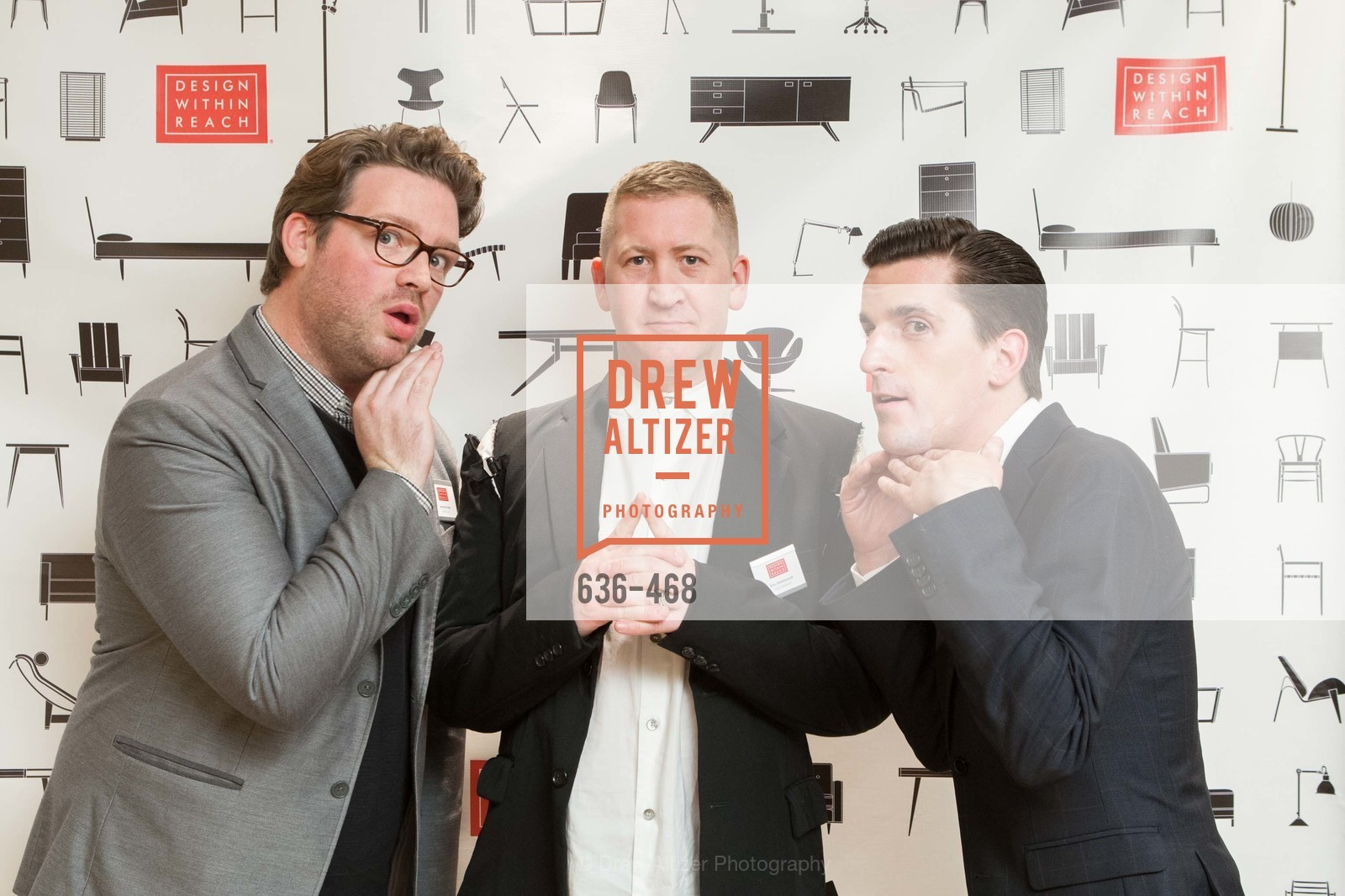 Jeremiah Allen, Eric Hildbrandt, Timothy Williamson, DESIGN WITHIN REACH Studio Opening, US. US, January 21st, 2014,Drew Altizer, Drew Altizer Photography, full-service agency, private events, San Francisco photographer, photographer california