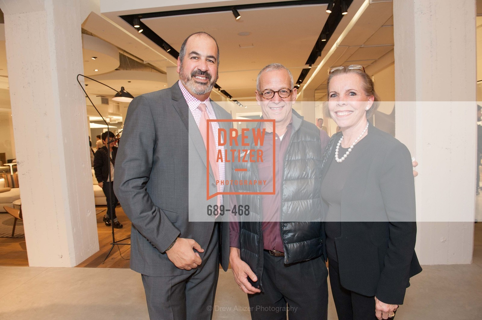 John Edelman, Avner Lapovsky, Pamela Belknap, DESIGN WITHIN REACH Studio Opening, US. US, January 21st, 2014,Drew Altizer, Drew Altizer Photography, full-service agency, private events, San Francisco photographer, photographer california