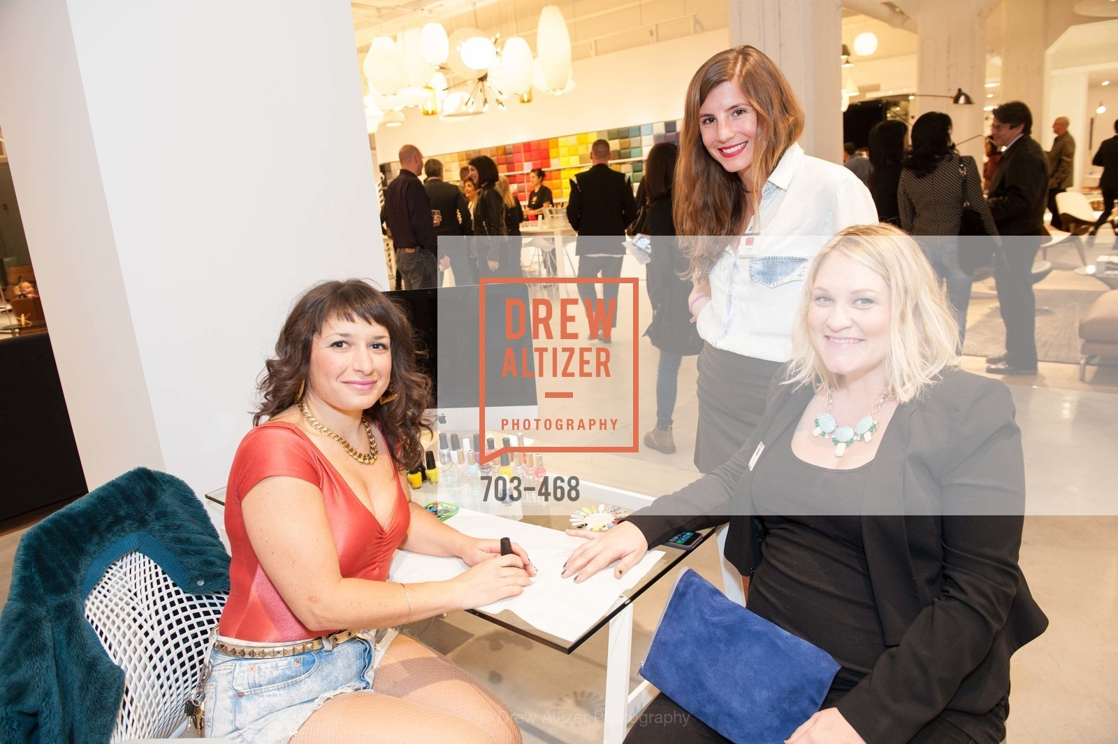 Kaylee Alexander, Ellen Brown, Annie Hable, DESIGN WITHIN REACH Studio Opening, US. US, January 21st, 2014,Drew Altizer, Drew Altizer Photography, full-service agency, private events, San Francisco photographer, photographer california