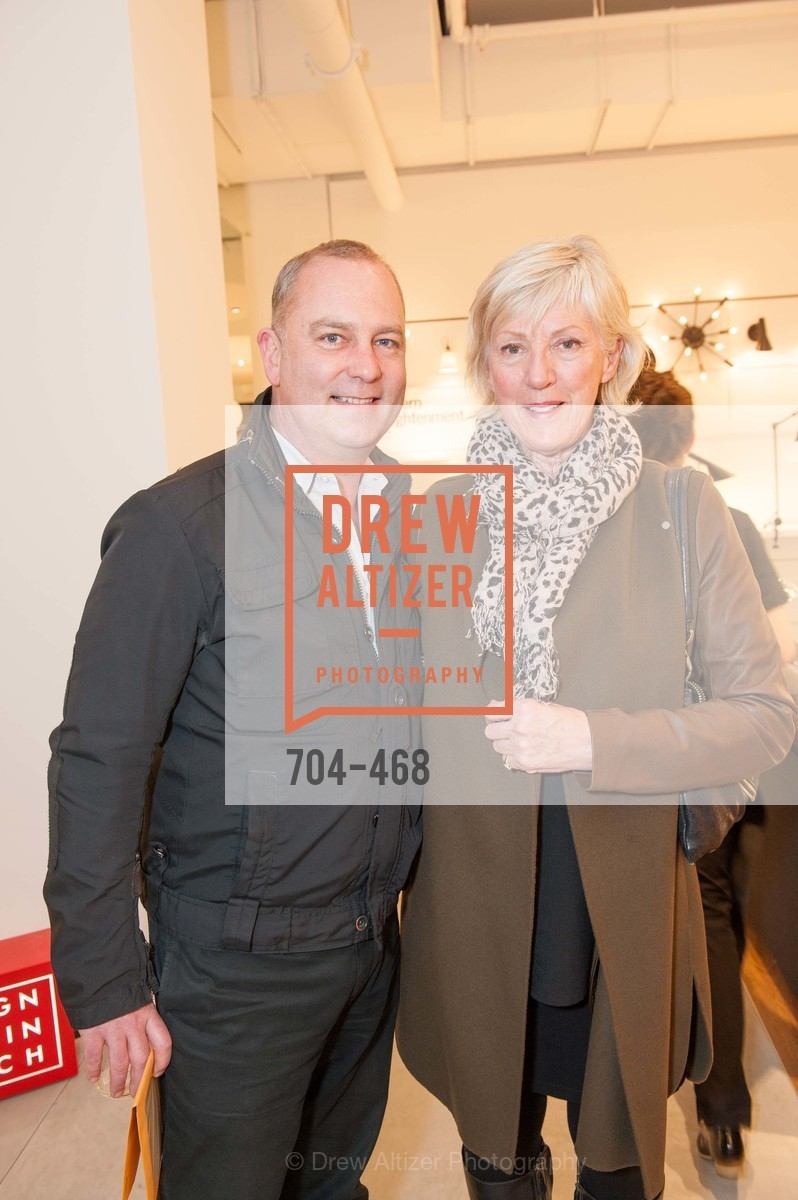 Roger Norton, Linda Lee, DESIGN WITHIN REACH Studio Opening, US. US, January 21st, 2014,Drew Altizer, Drew Altizer Photography, full-service agency, private events, San Francisco photographer, photographer california