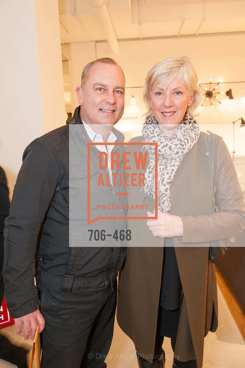 Roger Norton, Linda Lee, DESIGN WITHIN REACH Studio Opening, US. US, January 21st, 2014,Drew Altizer, Drew Altizer Photography, full-service event agency, private events, San Francisco photographer, photographer California