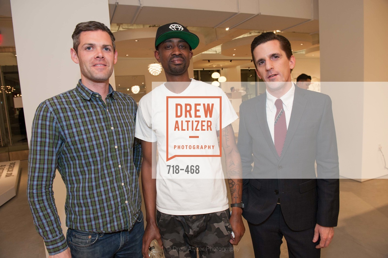 Patrick Roth, Jamar Wilson, Timothy Williamson, DESIGN WITHIN REACH Studio Opening, US. US, January 21st, 2014,Drew Altizer, Drew Altizer Photography, full-service agency, private events, San Francisco photographer, photographer california
