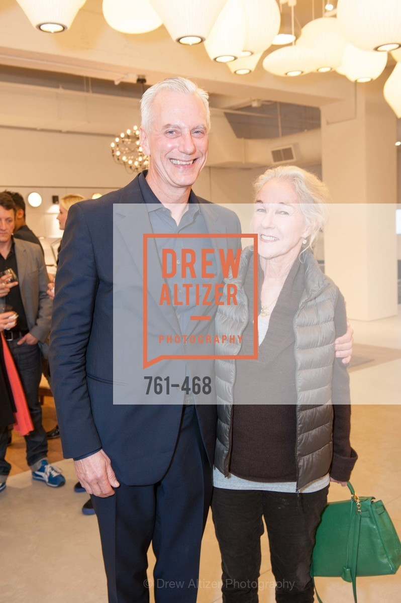 Alain Patretz, Susie Tompkins Buell, DESIGN WITHIN REACH Studio Opening, US. US, January 21st, 2014,Drew Altizer, Drew Altizer Photography, full-service event agency, private events, San Francisco photographer, photographer California