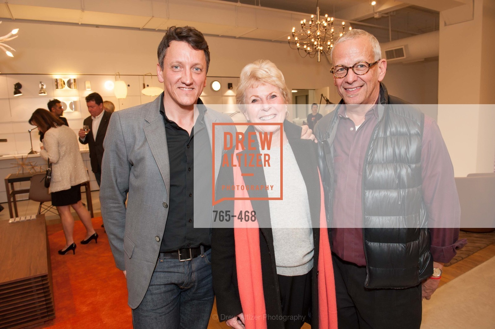 Nico DesWert, Kay Evans, Avner Lapovsky, DESIGN WITHIN REACH Studio Opening, US. US, January 21st, 2014,Drew Altizer, Drew Altizer Photography, full-service agency, private events, San Francisco photographer, photographer california