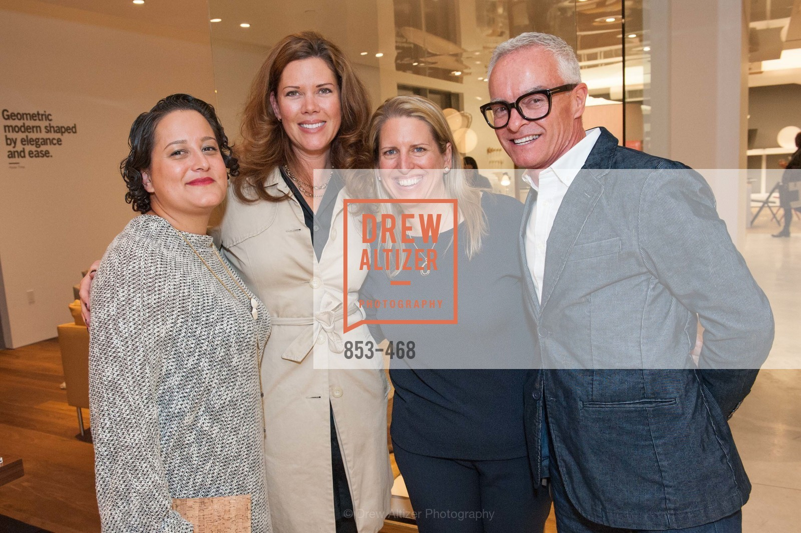 Suzanne Rasic, Andrea Seltis, Kelly McGrath, Scott Manha, DESIGN WITHIN REACH Studio Opening, US. US, January 21st, 2014,Drew Altizer, Drew Altizer Photography, full-service agency, private events, San Francisco photographer, photographer california