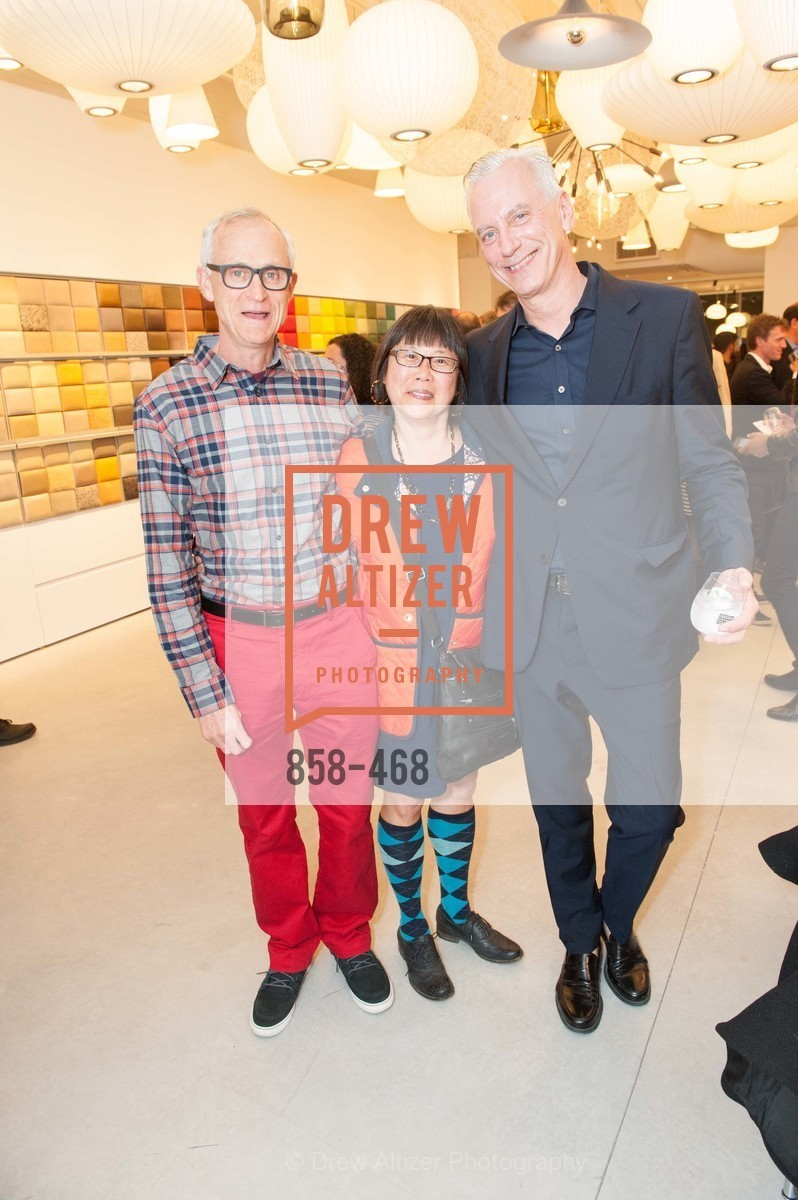 Ken Rosenberg, Dolly Mah, Alain Patretz, DESIGN WITHIN REACH Studio Opening, US. US, January 21st, 2014,Drew Altizer, Drew Altizer Photography, full-service agency, private events, San Francisco photographer, photographer california