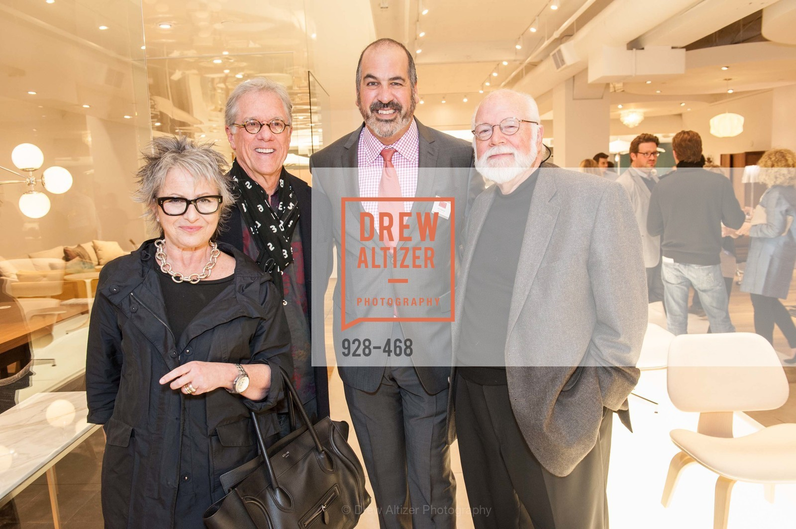 Jennifer Morla, Rob Forbes, John Edelman, Kit Hinrichs, DESIGN WITHIN REACH Studio Opening, US. US, January 21st, 2014,Drew Altizer, Drew Altizer Photography, full-service agency, private events, San Francisco photographer, photographer california