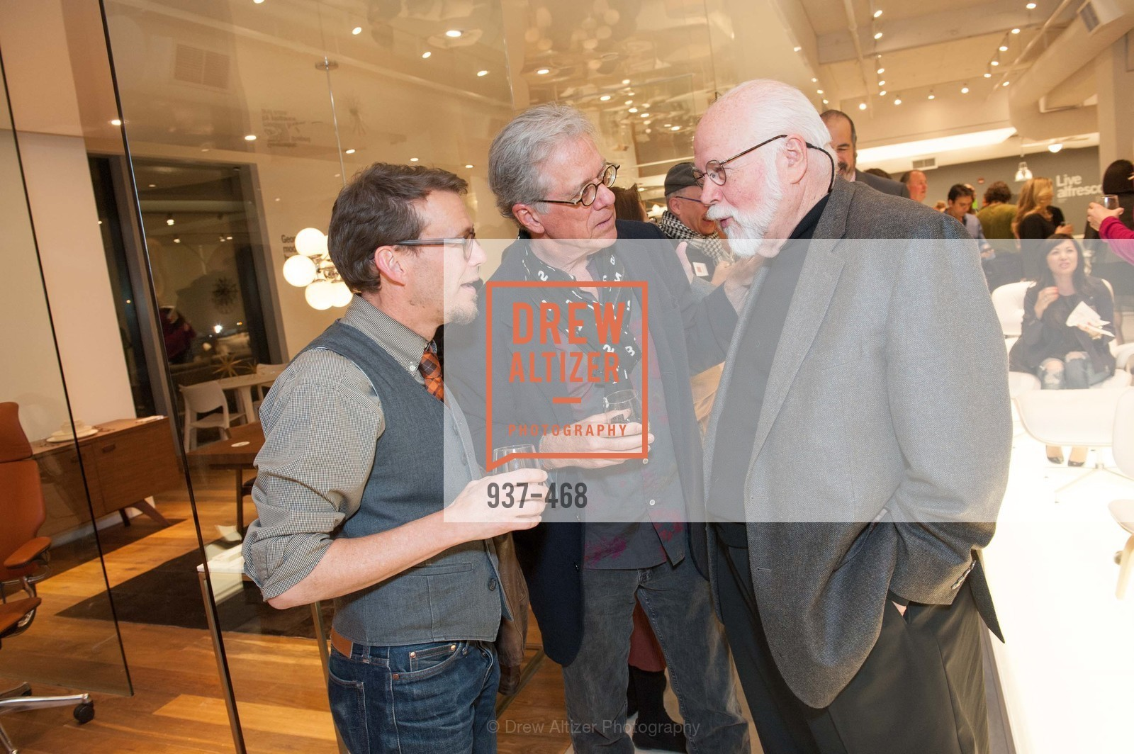 Ted Boerner, John Forbes, Kit Hinrichs, DESIGN WITHIN REACH Studio Opening, US. US, January 21st, 2014,Drew Altizer, Drew Altizer Photography, full-service agency, private events, San Francisco photographer, photographer california