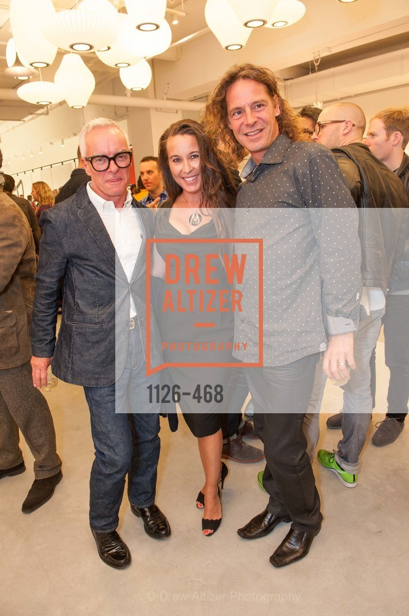 Scott Manha, Carla Biondi, Christoph Opperman, DESIGN WITHIN REACH Studio Opening, US. US, January 21st, 2014,Drew Altizer, Drew Altizer Photography, full-service agency, private events, San Francisco photographer, photographer california