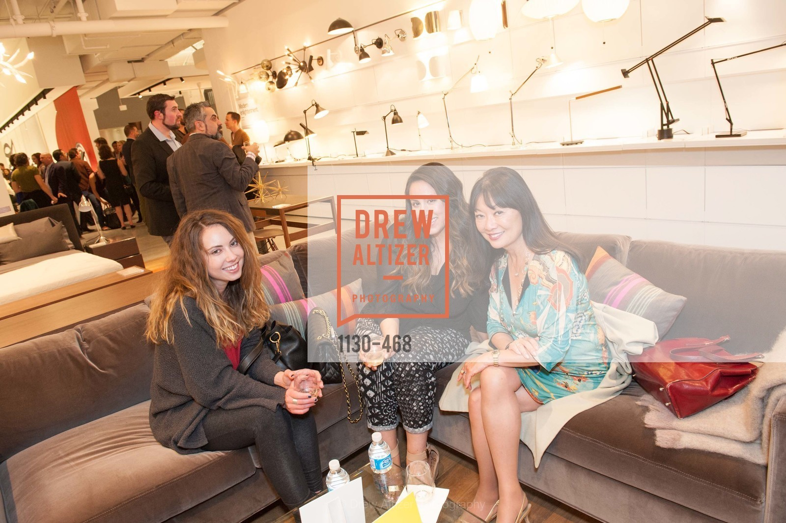 Sarah Roureh, Rhonda Hirata, DESIGN WITHIN REACH Studio Opening, US. US, January 21st, 2014,Drew Altizer, Drew Altizer Photography, full-service agency, private events, San Francisco photographer, photographer california