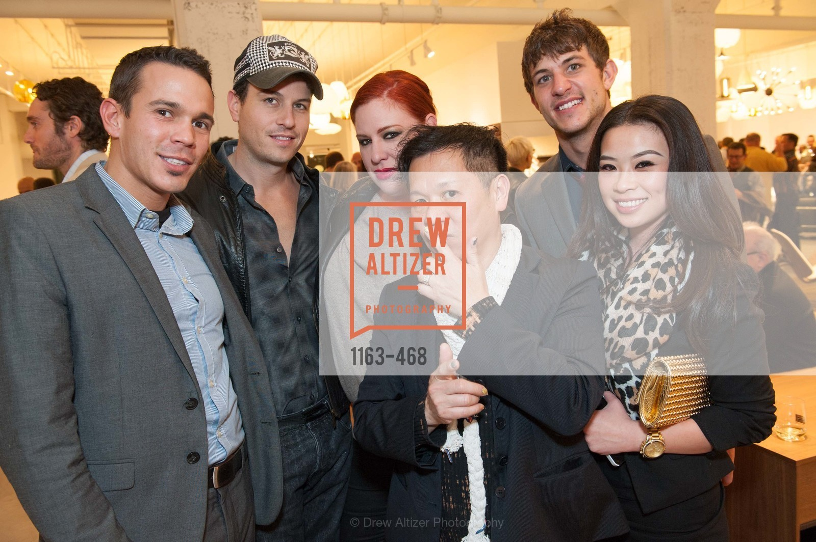 Mykul Chretien, Traver Raims, Diana Coney, Baby Chic, Aaron Muraski, DESIGN WITHIN REACH Studio Opening, US. US, January 21st, 2014,Drew Altizer, Drew Altizer Photography, full-service agency, private events, San Francisco photographer, photographer california