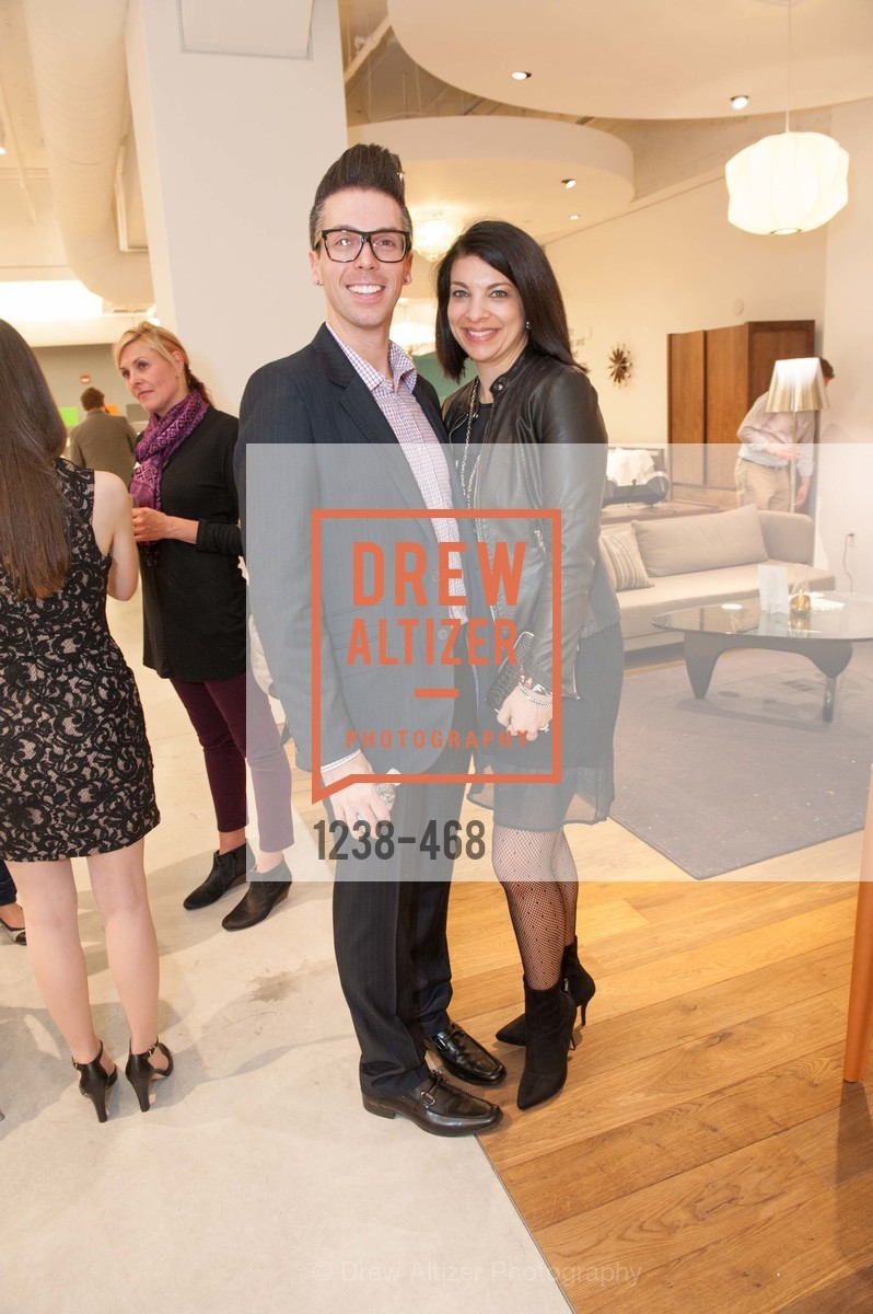 Gabe Holland, Marcella Barry, DESIGN WITHIN REACH Studio Opening, US. US, January 21st, 2014,Drew Altizer, Drew Altizer Photography, full-service agency, private events, San Francisco photographer, photographer california