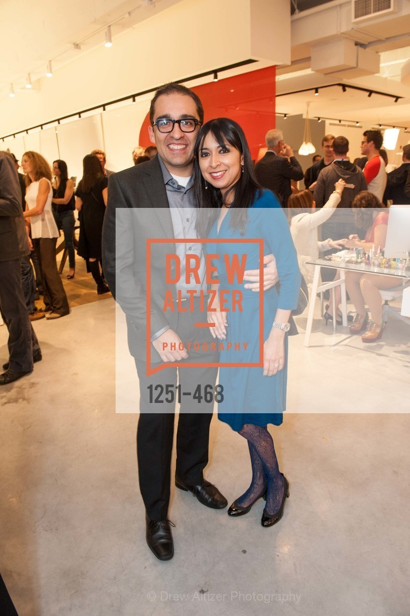 Rodrigo Diaz, Argelia Barcena, DESIGN WITHIN REACH Studio Opening, US. US, January 21st, 2014,Drew Altizer, Drew Altizer Photography, full-service agency, private events, San Francisco photographer, photographer california