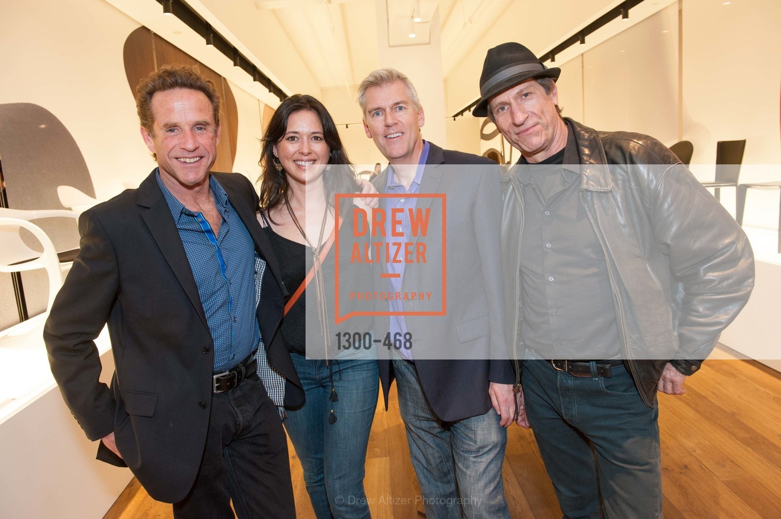 Mark Dupaix, Liz Young, Michael Penn, Clyde Miles, DESIGN WITHIN REACH Studio Opening, US. US, January 21st, 2014,Drew Altizer, Drew Altizer Photography, full-service agency, private events, San Francisco photographer, photographer california