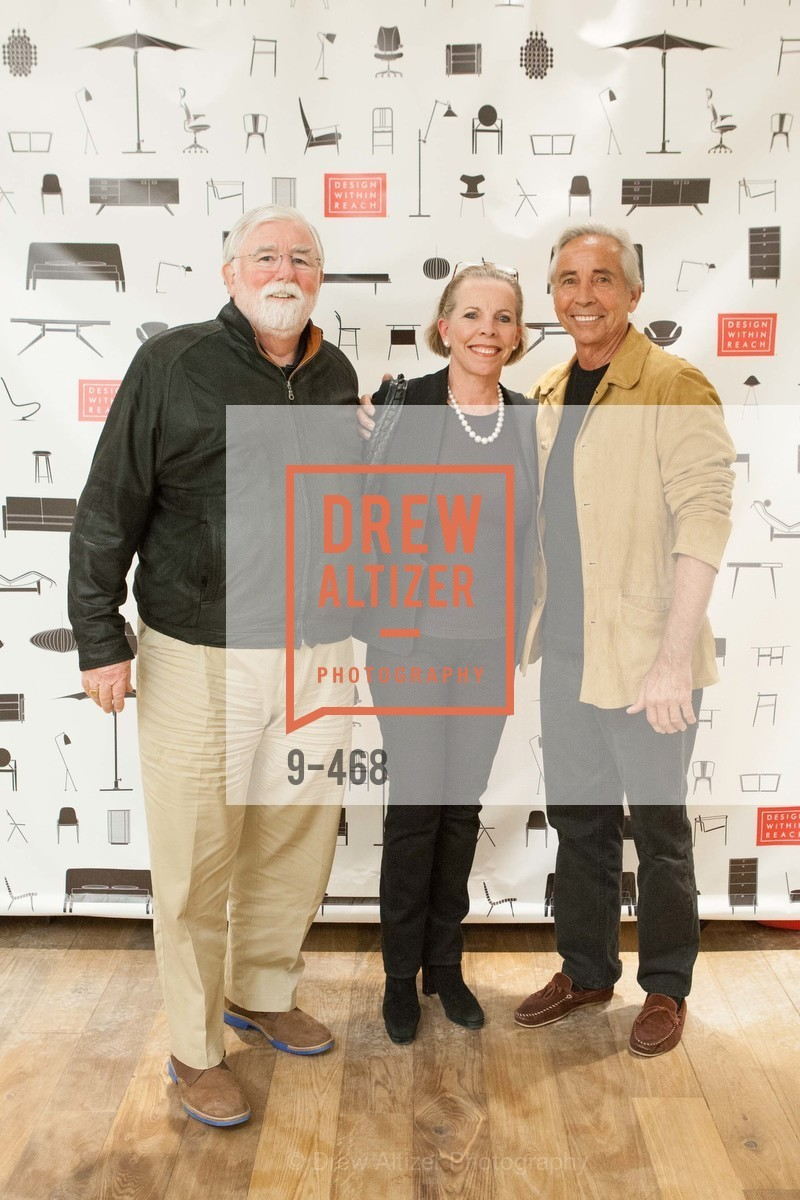 John Prichard, Pamela Belknap, Richard Rowley, DESIGN WITHIN REACH Studio Opening, US. US, January 21st, 2014,Drew Altizer, Drew Altizer Photography, full-service agency, private events, San Francisco photographer, photographer california